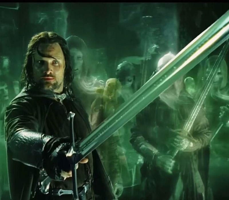 espada aragorn