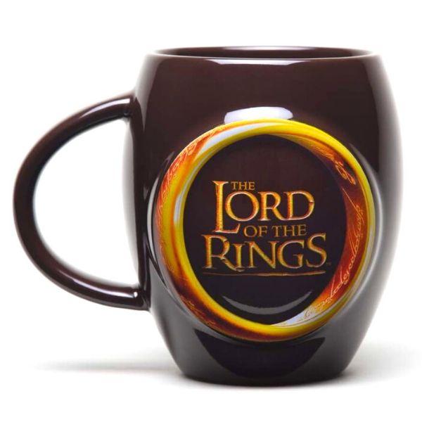taza el señor de los anillos