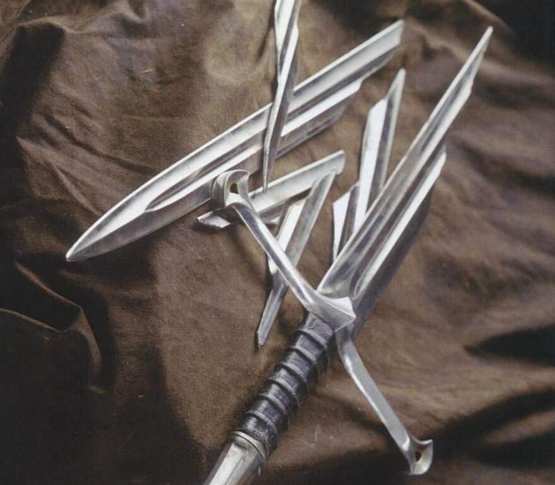 espadas el señor de los anillos
