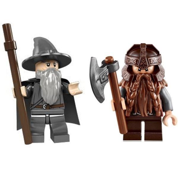 figuras lego señor de los anillos