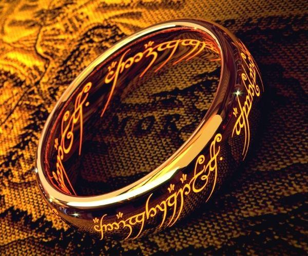 inscripcion anillo del señor de los anillos